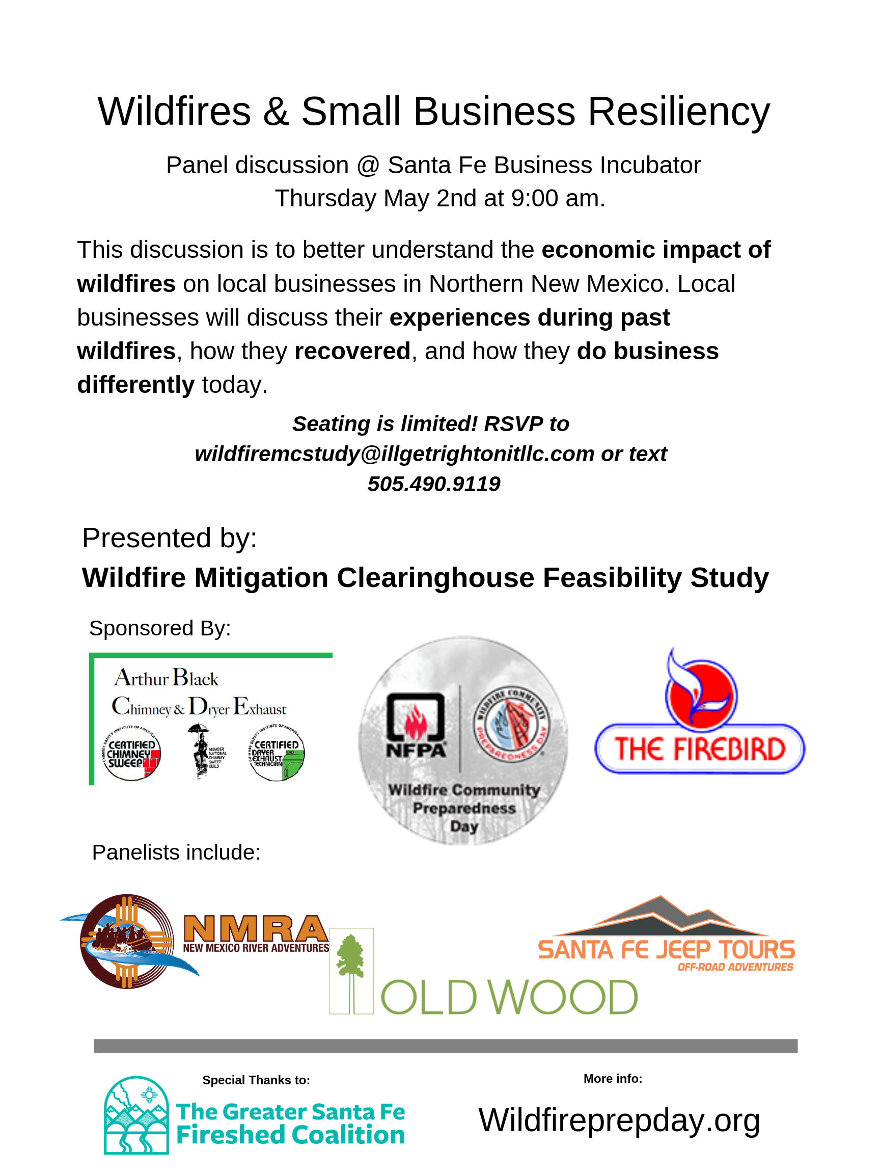 Flyer WMC 5.2.19 Panel Discussion